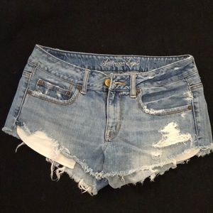 American Eagle Outfitters Denim Short Shorts